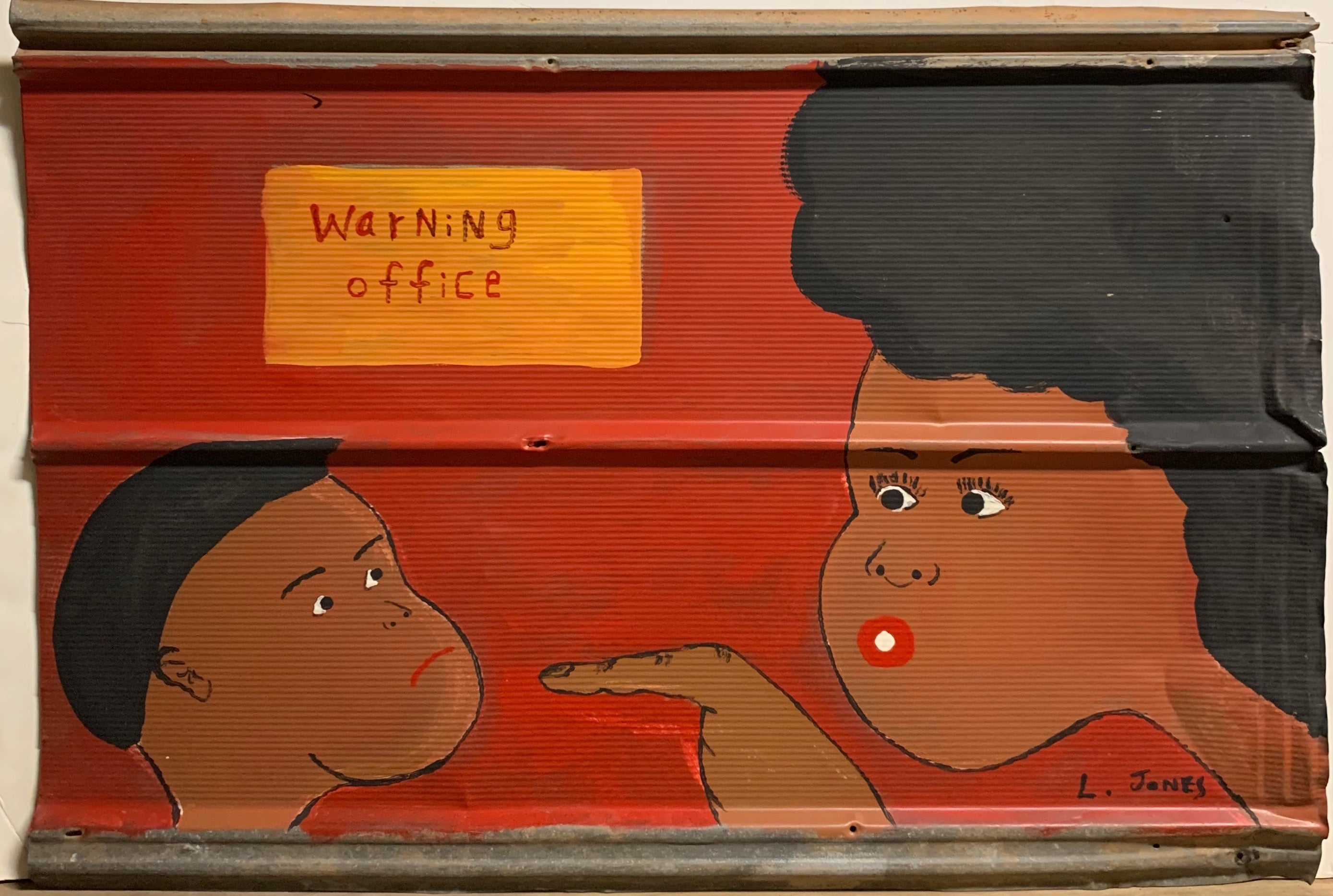 Warning Office #223
