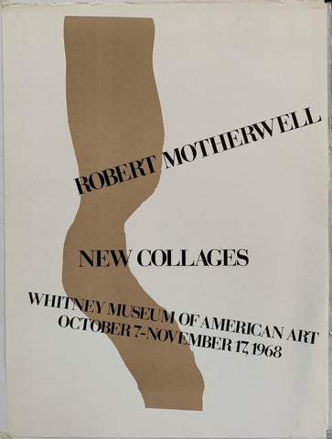 Robert Motherwell, New Collages