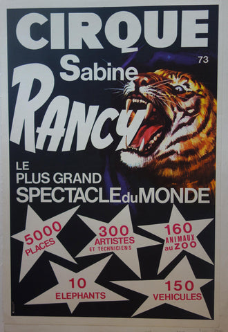 Cirque Sabine Rancy