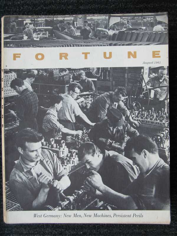Fortune August 1961