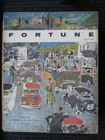 Fortune August 1963