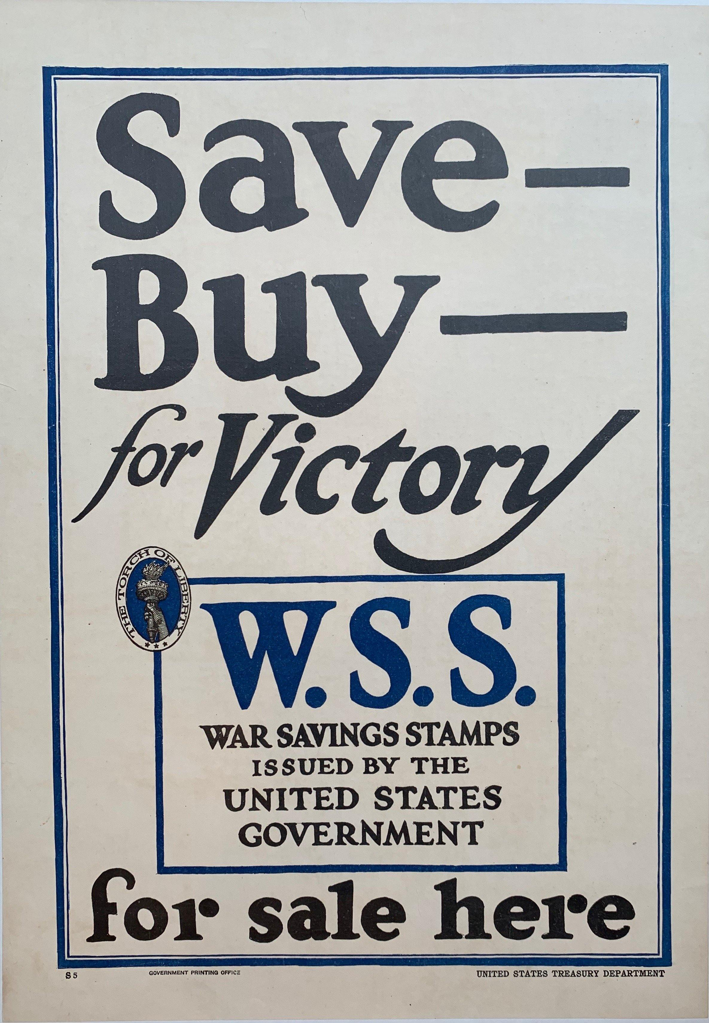 Save Buy for Victory - Poster Museum