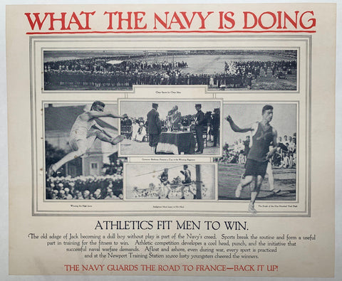 What the Navy is Doing - Poster Museum