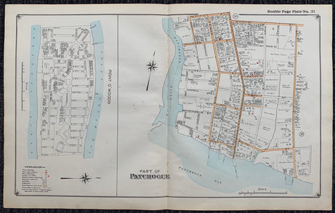 Long Island Index Map No.2 - Plate 31 Patchogue Point O'Woods