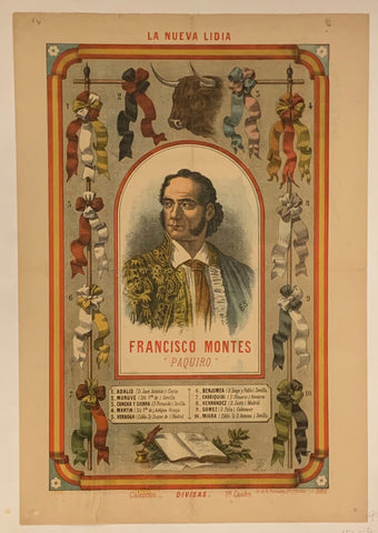 Francisco Montes Poster