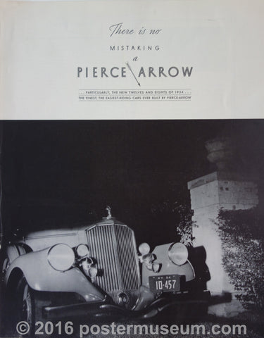 There is no Mistaking a Pierce Arrow