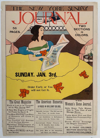 The New York Sunday Journal - Poster Museum