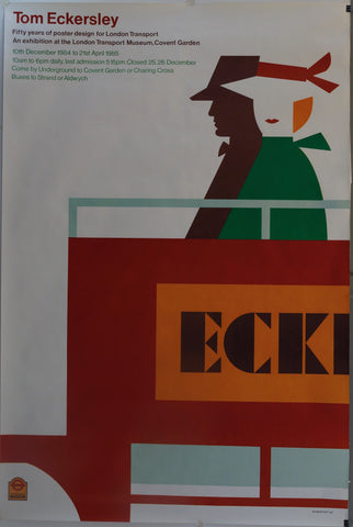 "Tom Eckersley ""Fifty years of poster design for London Transport"""