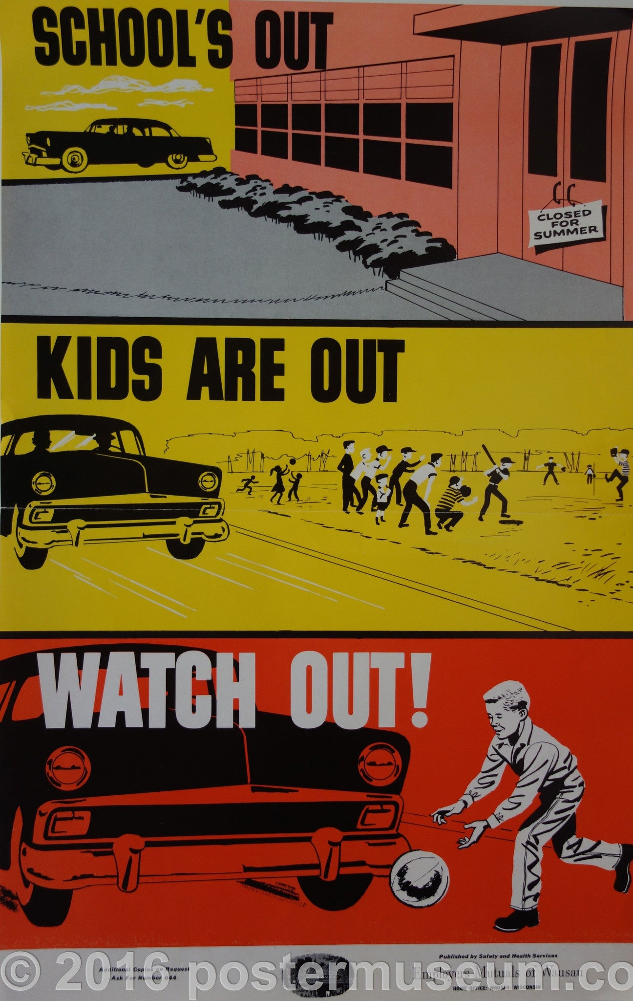 School's Out. Kids Are Out. Watch Out!