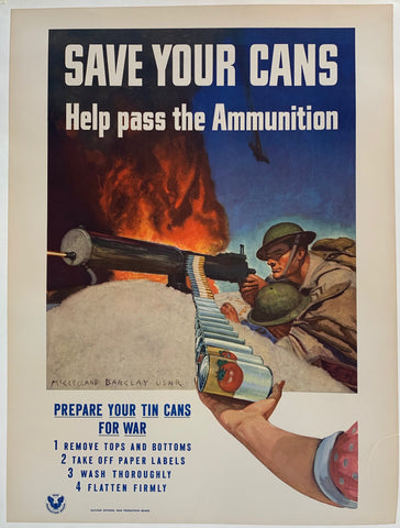 Save Your Cans - Help pass the Ammunition