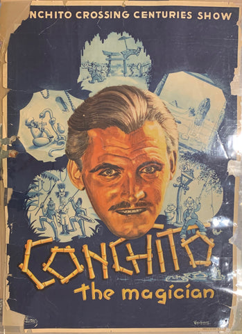 Conchito: The Magician Poster