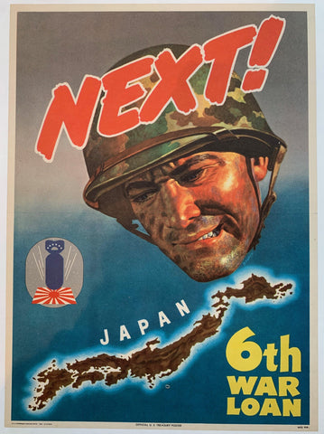 Next! Japan. 6th War Loan.