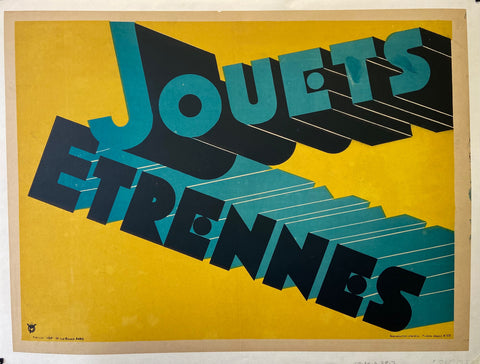 Jouets Etrennes Poster