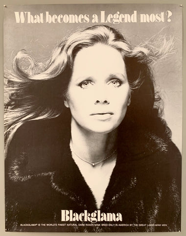 What Becomes a Legend Most? Liv Ullmann Blackglama Poster