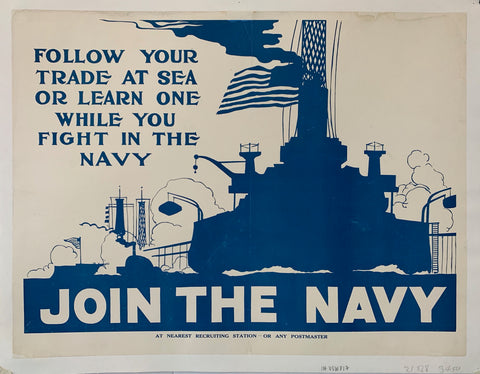 American Navy Poster