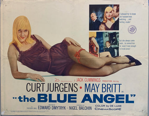 The Blue Angel Film Poster