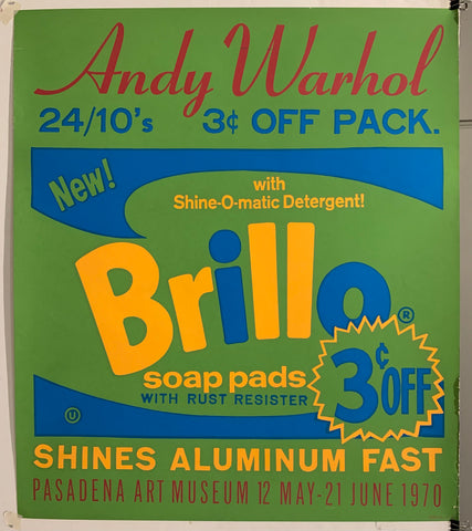 Andy Warhol Brillo Poster