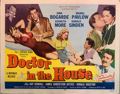 Doctor In The House Film Poster