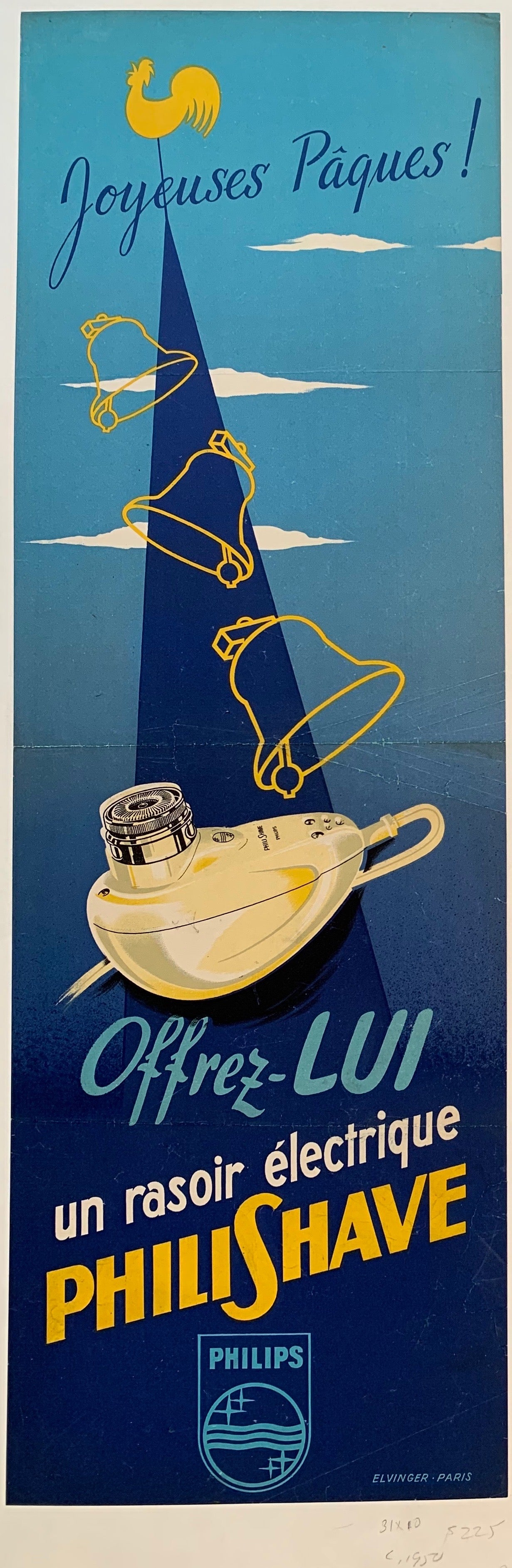 Phili Shave Razor Advertisement