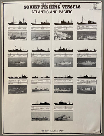 Soviet Fishing Vessels Poster