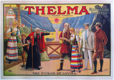 "Thelma Book By Marie Corelli ""The Curse of Lovisa"""