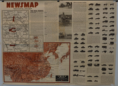 "Newsmap Industrial Edition ""China Burma"""