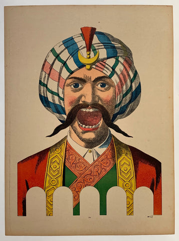 Man in Turban shouting