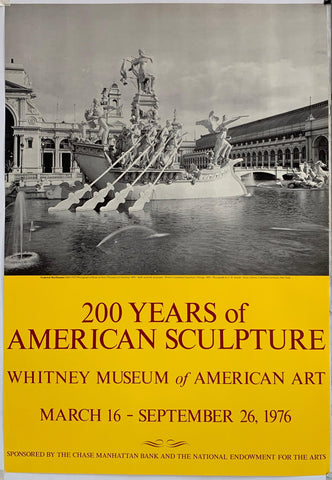 200 Years of American Sculpture - Poster Museum
