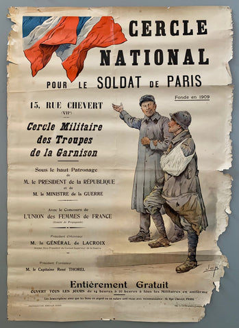 Cercle National Poster