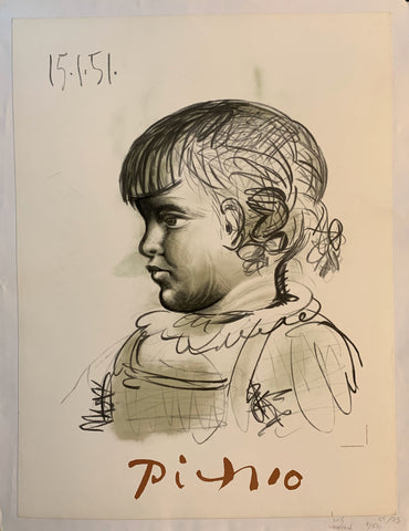 "Pablo Picasso ""Child"""
