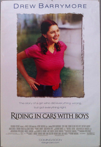 Riding in Cars with Boys - Poster Museum