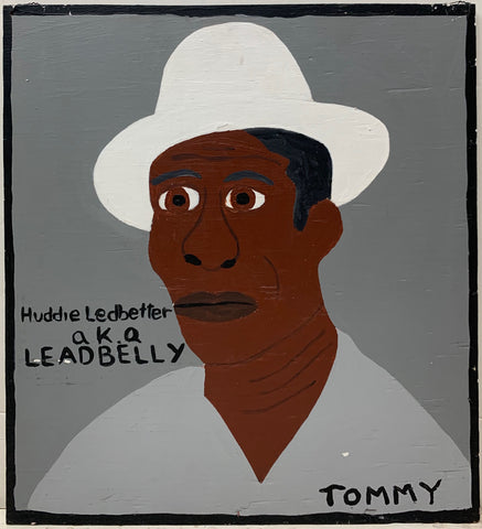 Huddie Ledbetter a.k.a. Lead Belly #34 Tommy Cheng Painting