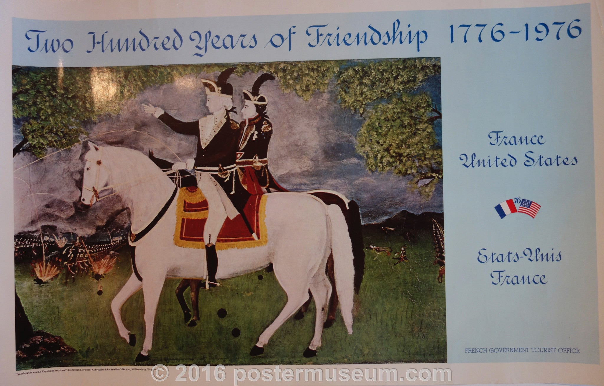 Two-hundred years of Friendship 1776-1976