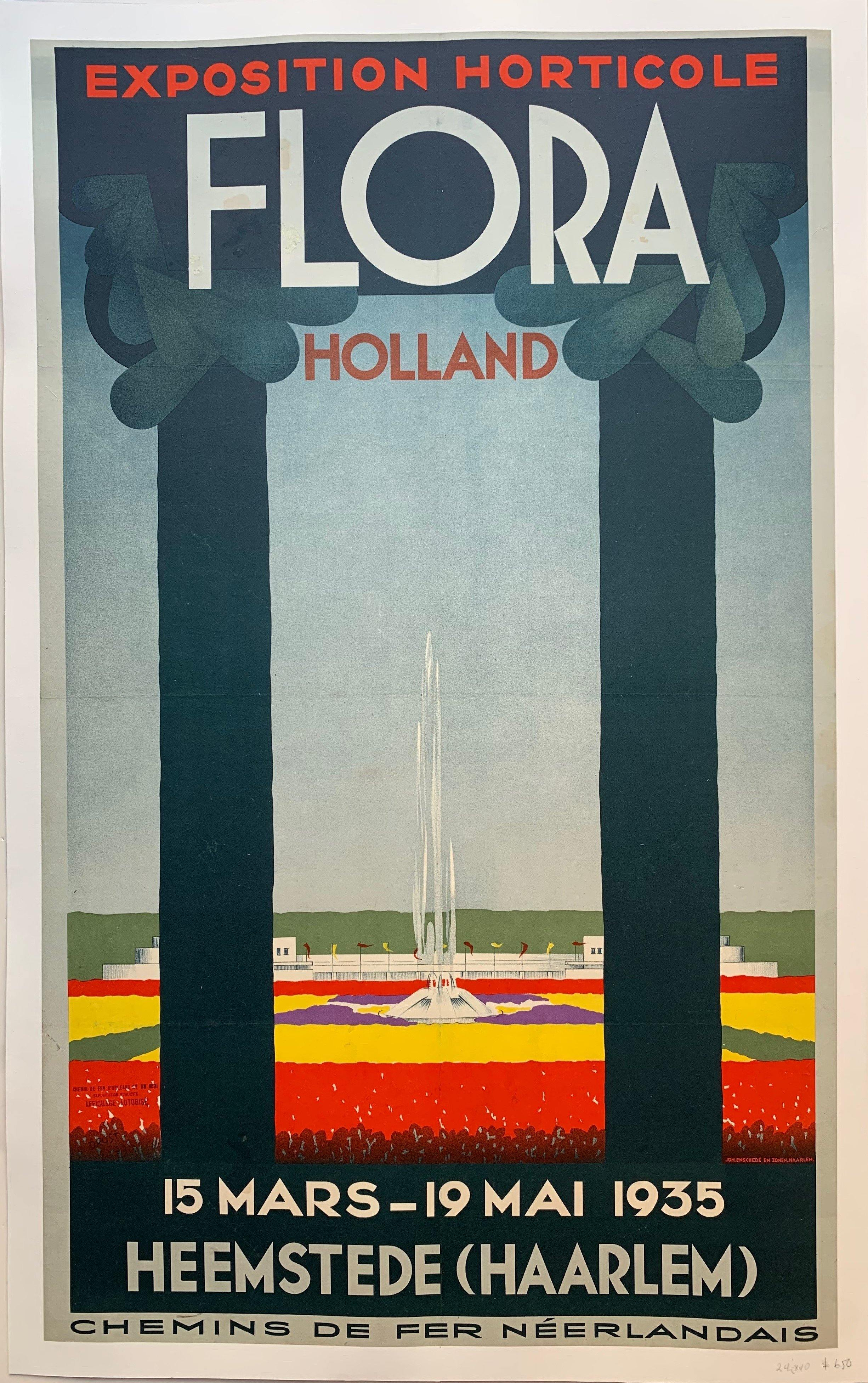 Exposition Horticole Flora Holland - Poster Museum