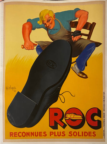 Chaussures ROC Vintage Poster