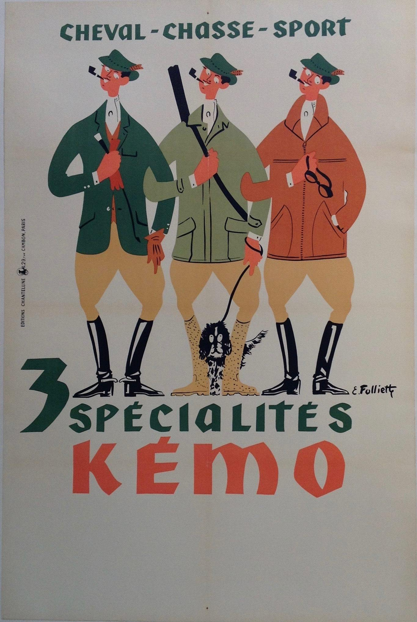 3 Specialites Kemo - Poster Museum