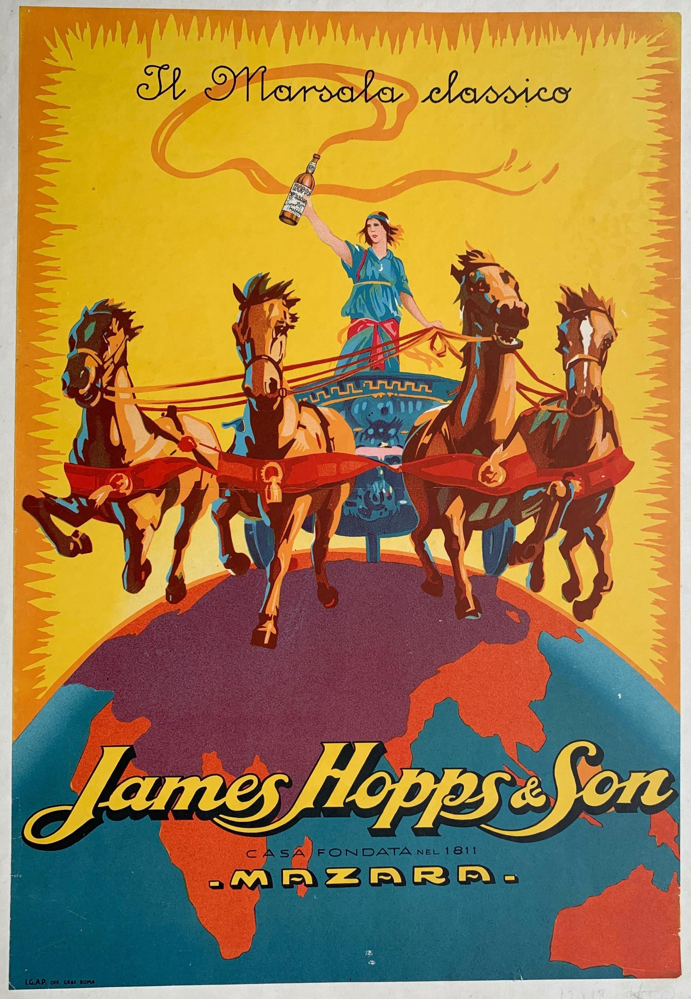 Hopps Marsala Wine / James Hopps & Son