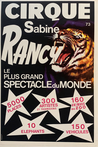 Cirques Sabine Rancy Tiger