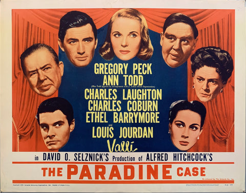 The Paradine Case Film Poster