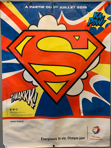 Superman Total Energie Poster