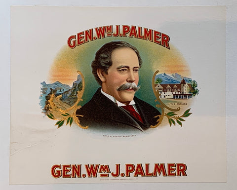 General William Jackson Palmer Print