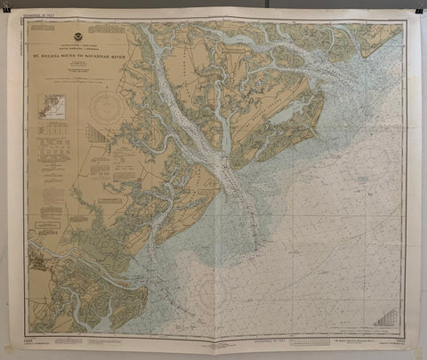 A map of the St. Helena Sound