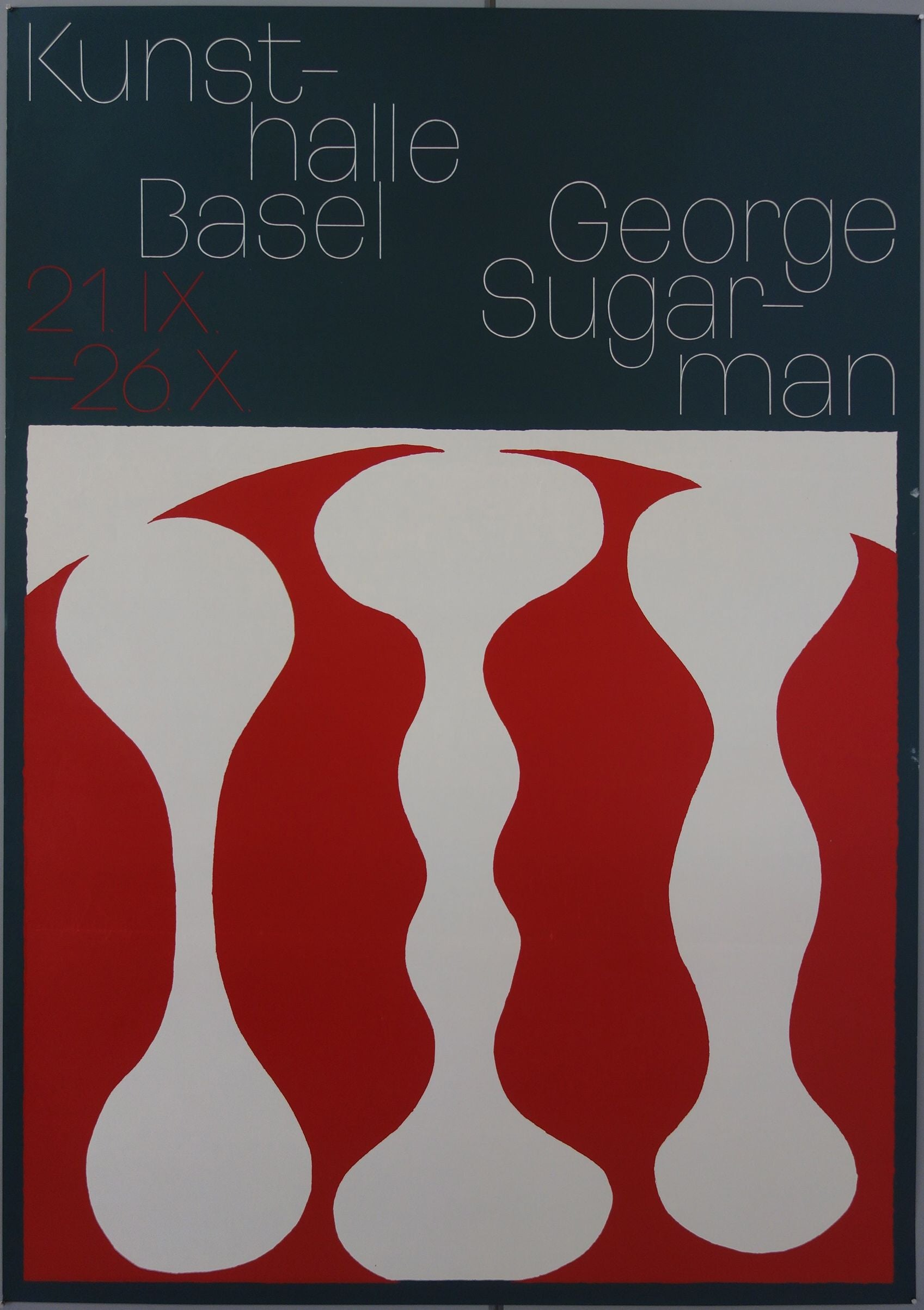 Kunsthalle Basel George Sugarman