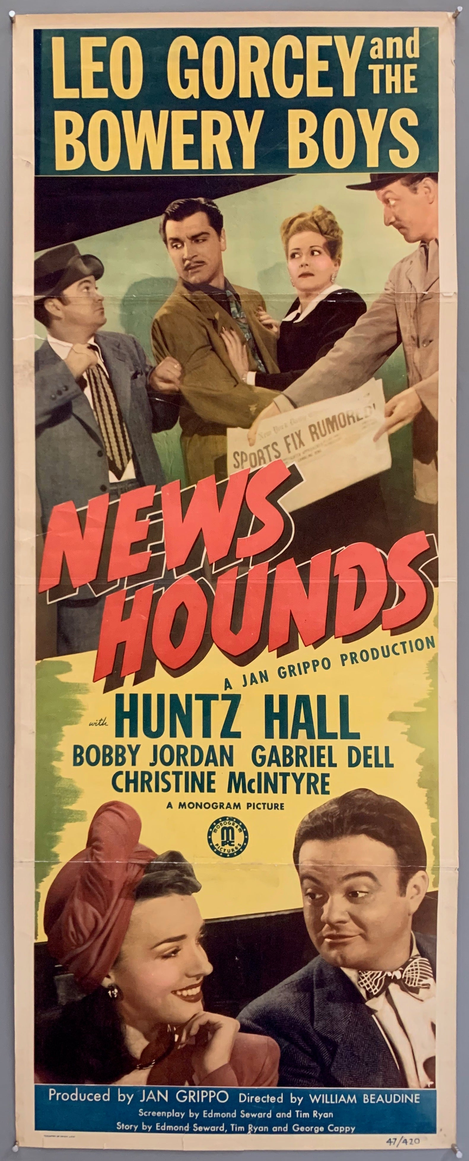News Hounds Poster