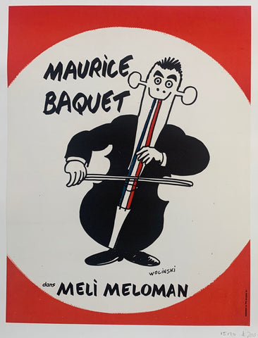 Maurice Baquet Poster