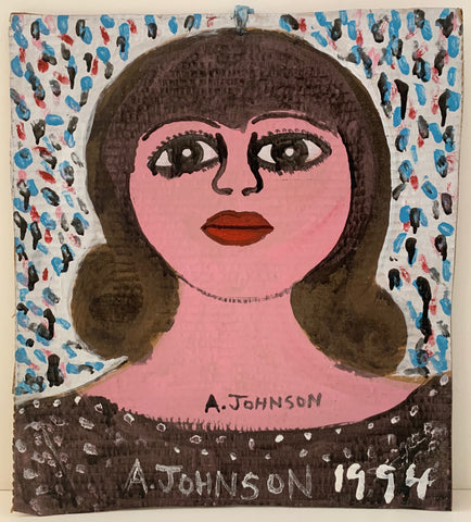 Serious Woman Anderson Johnson Painting