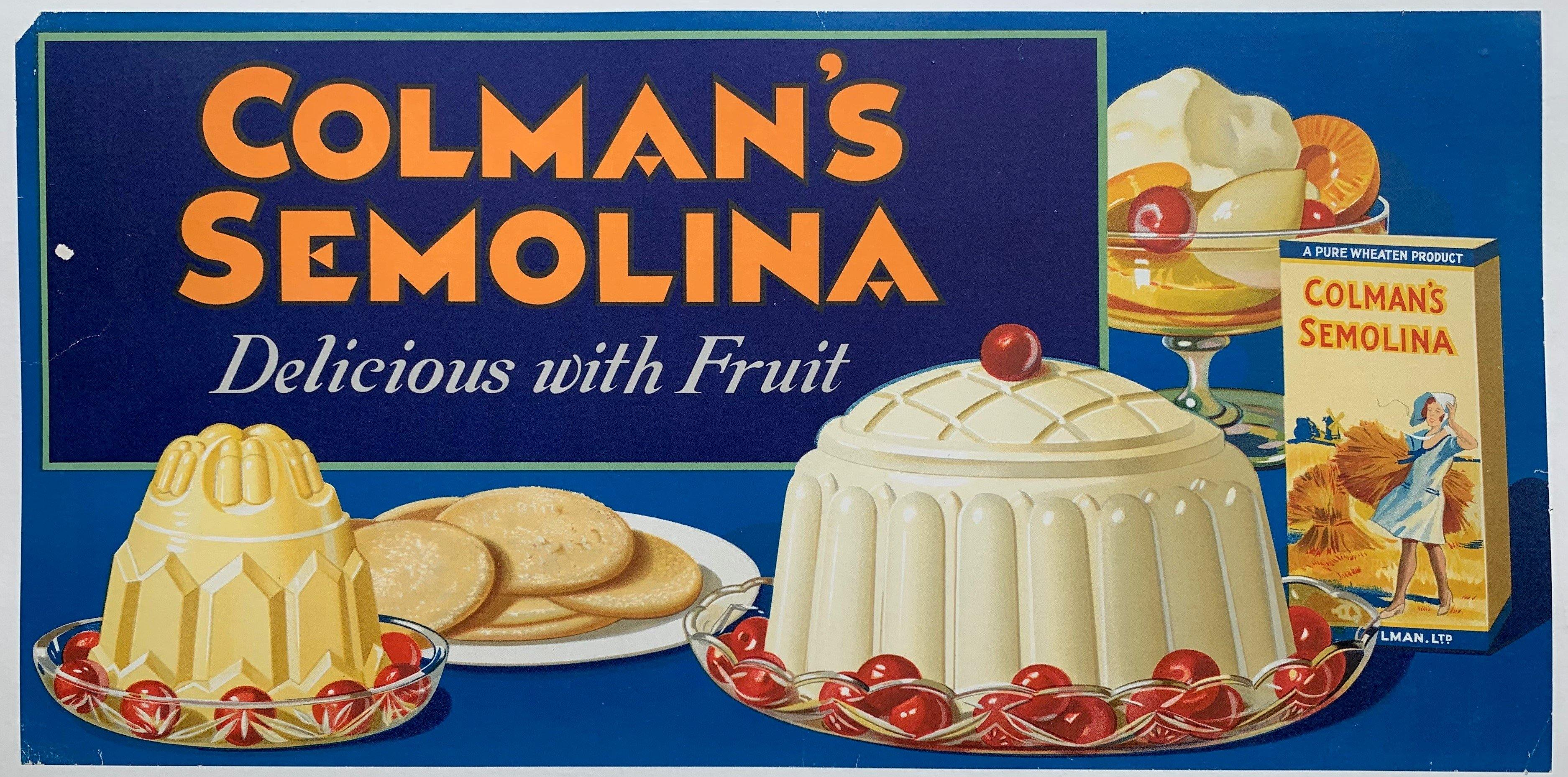 Colman's Semolina Delicious with Fruit