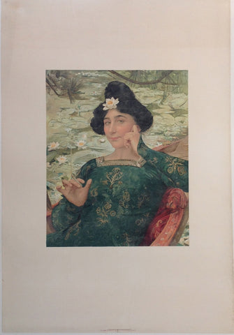 Woman holding Cigar