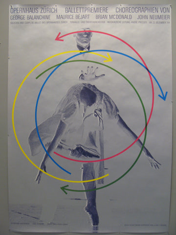 Ballettpremiere Swiss Poster
