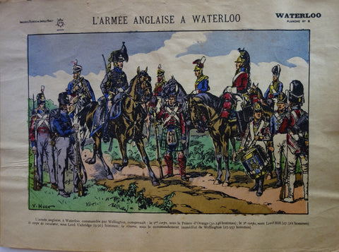 L'armee Anglaise A Waterloo
